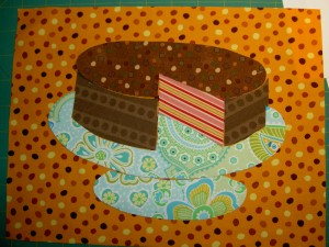 China Cake Plate