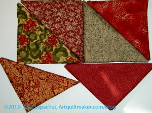 Quiltworks fabric from Paul