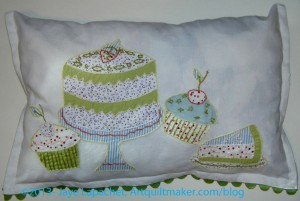 Tea towel pillow