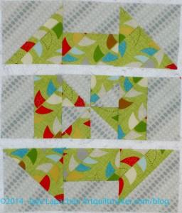 Three Rows Sewn