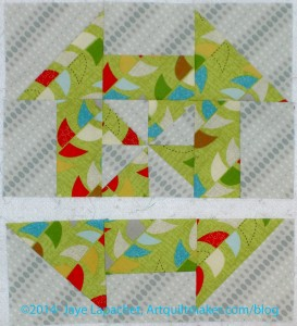 Two Rows Sewn Together
