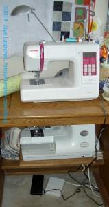 Sewing machine[s] setup