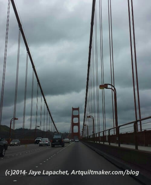 First View: Golden Gate Bridge