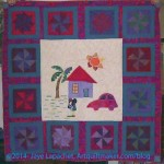 House Block quilt