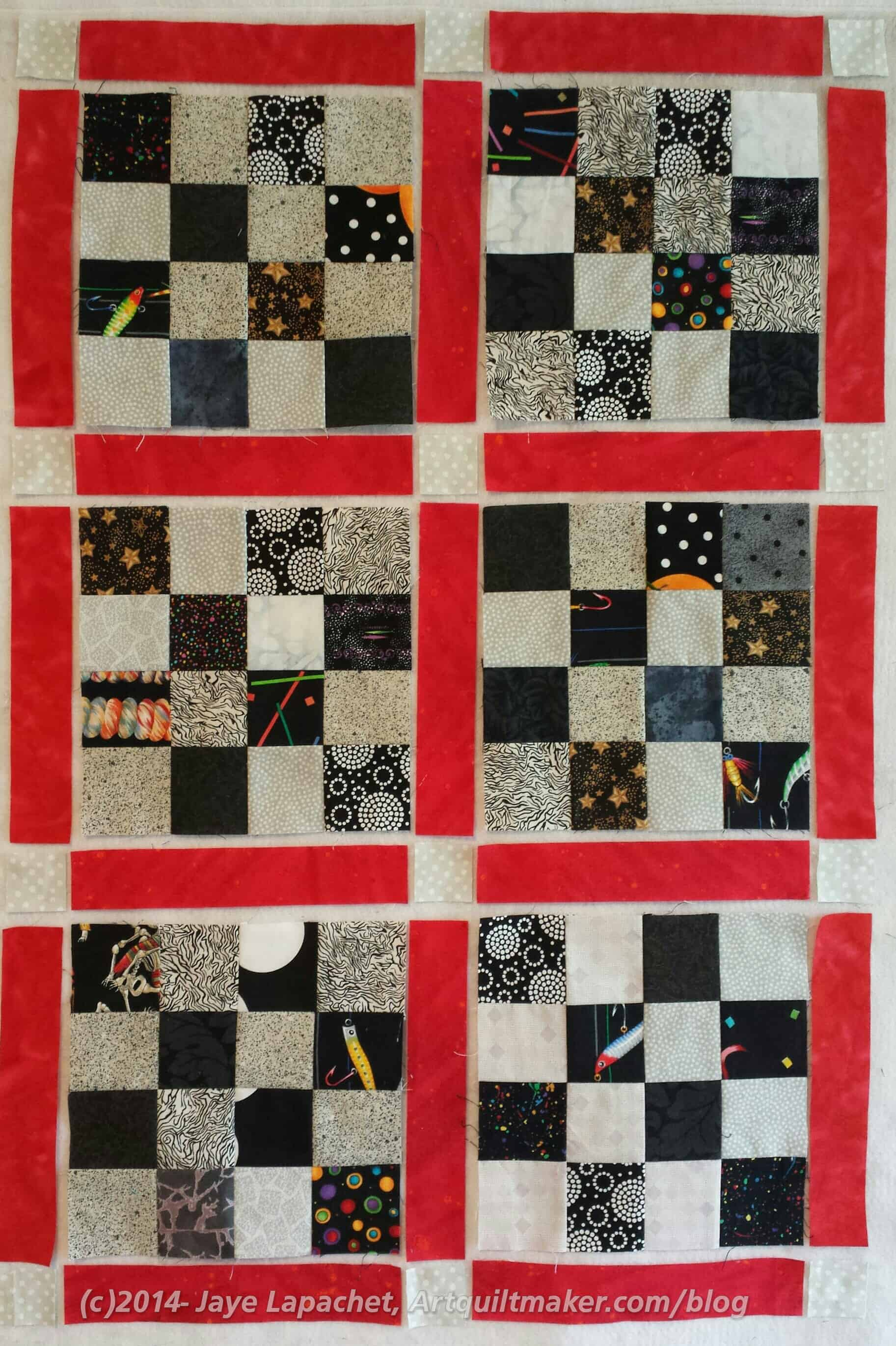 Chunking It – A Method of Putting Quilts Together – Artquiltmaker Blog : how to put a quilt together - Adamdwight.com