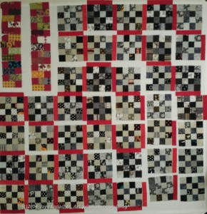 Black & Grey Teenaged Boy Donation Quilt