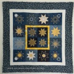 Cathy's Embroidered Star Quilt
