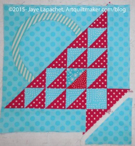 Sew on Final Triangle