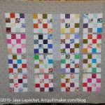Multi-color Donation Quilt- April