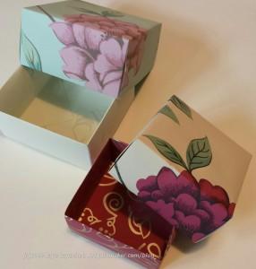 Folded Gift Boxes