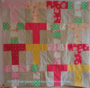 Flower Sugar T Donation Quilt
