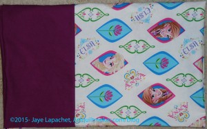 Anna and Elsa Pillowcase