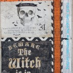 College Hallowe'en Pillowcase #3