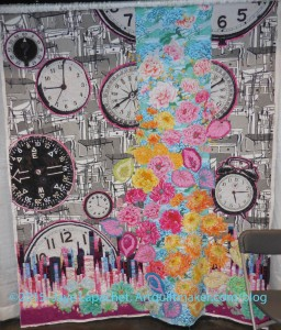 Crazy Time (The Clocks Quilt) quilt by Alethea Ballard of Walnut Creek, California