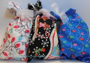 More Christmas wrapping