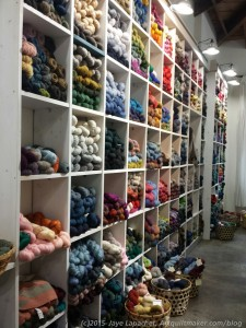 Yarn Wall - A Verb for Keeping Warm