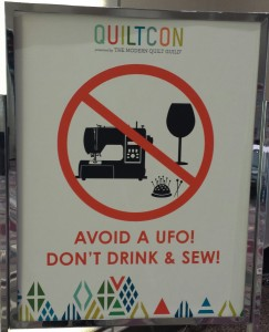 Avoid a UFO sign