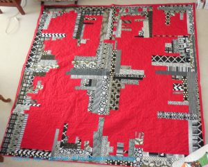Cityscape- back from the quilter