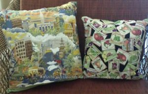 NSGW Grand Parlor 2016 Pillows - backs