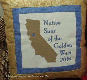 NSGW 2016 Grand Parlor Fancy Pillow