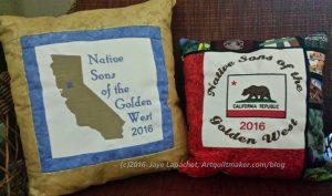 NSGW 2016 Grand Parlor Pillows