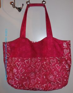 Heart Bag: Finished