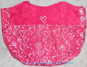 Heart Bag with Applique'