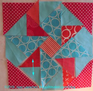 Partial Seams: Sew Triangles Together