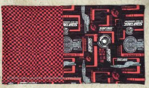 Small check Star Wars Pillowcase