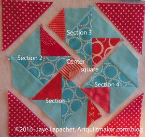 Partially sewn seam