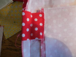 Stabilize zipper pocket - detail