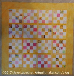 Yellow Donation Quilt #2 - Feb 2017