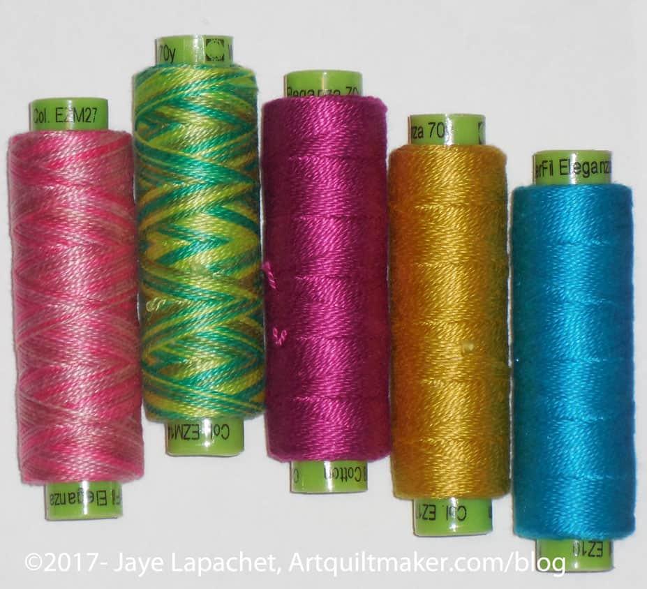 Sue Spargo Threads from Stitch