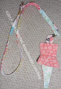Mary's Lanyard & Scissor Sheath