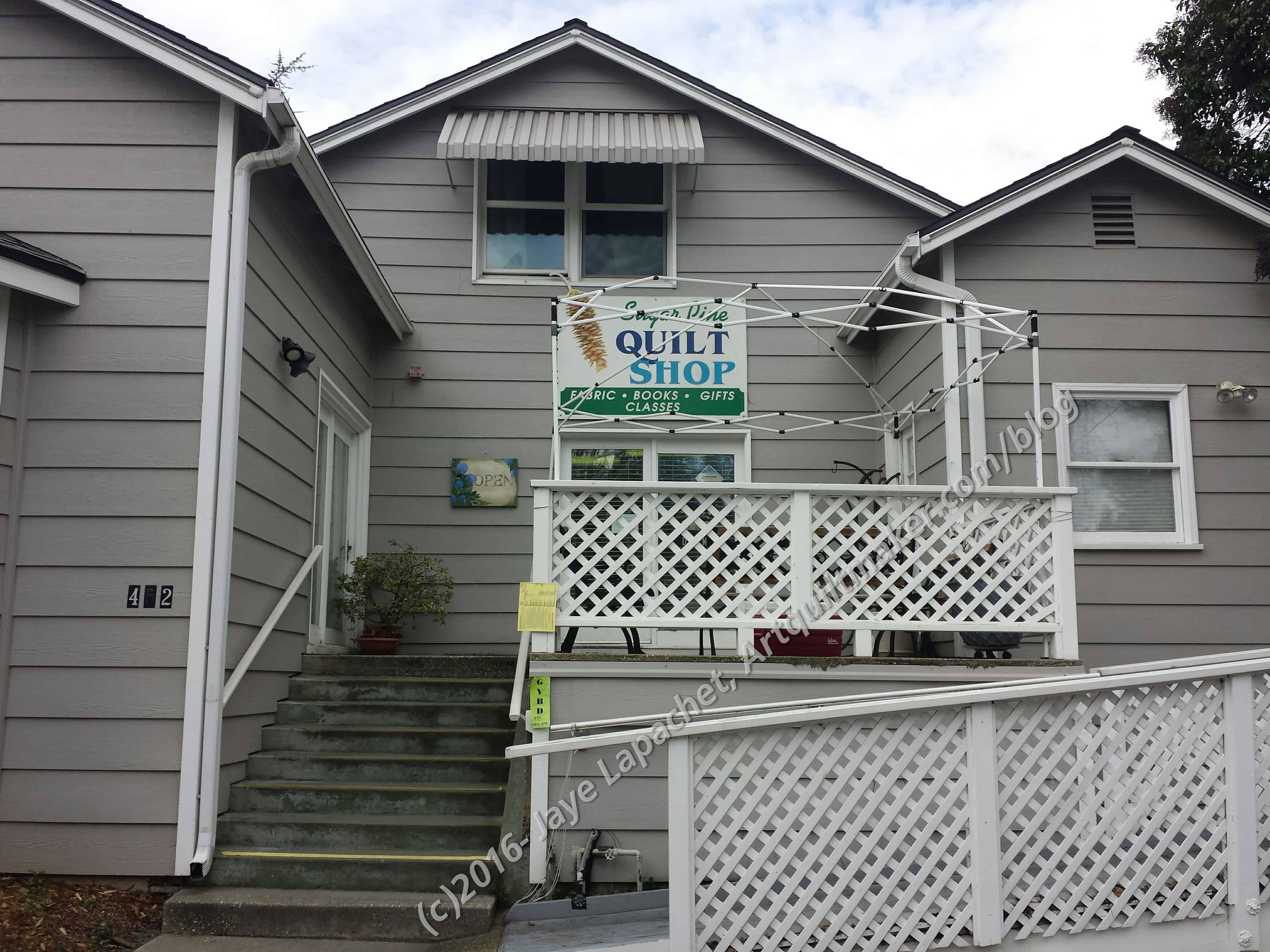 Sugar Pine Quilt Shop – Artquiltmaker Blog : sugar pine quilt shop - Adamdwight.com
