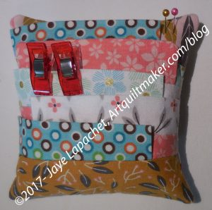 Mary's Pincushion/Wonderclip caddy