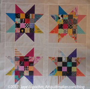 Sawtooth Star Donation Quilt
