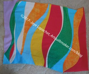 My Color My Quilt Piece for Kelly