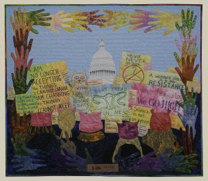 Sarah Ann Smith's Quilt Speak Up, Speak Out