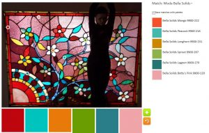 Leaded Glass - palette n.2