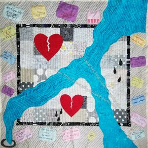 Down the Drain: Quilting Completed