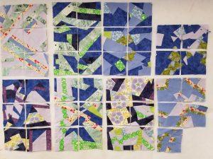 Michelle S' map quilt