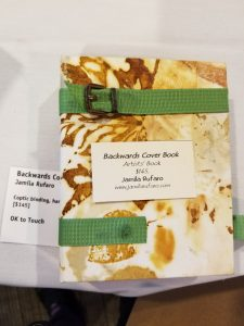 Backwards Cover Book by Jamila Rufaro