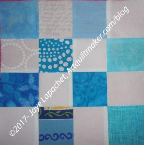Blue & White Donation Block