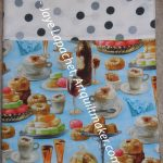 Paris Pastries Pillowcase