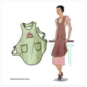 Decades of Style Flapper Apron