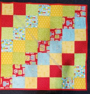 Quillow Bag quilt n.2 for guild officers 2018