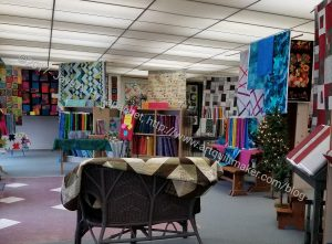 Pine Needle Quilt Shop - front of store