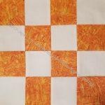 Flat Orange donation block
