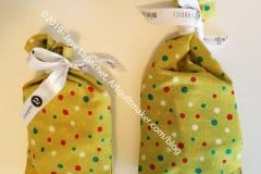 Two Green Gift Bags